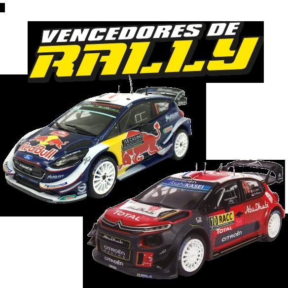 Vencedores de Rally