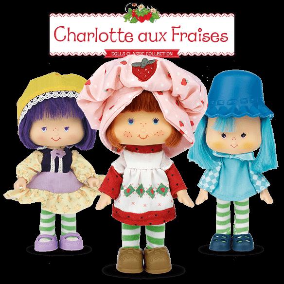 Charlotte aux Fraises - Collection de Poupées