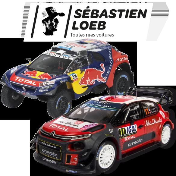 Collection de voitures de Sébastien Loeb