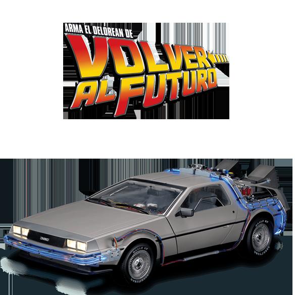 Arma el DeLorean de Volver al Futuro