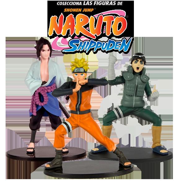 Colecciona las figuras de Naruto Shippuden