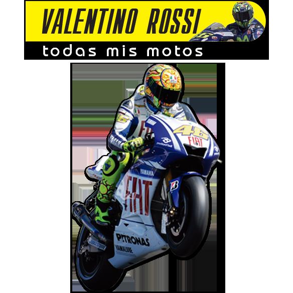 La colección oficial de motos de Valentino Rossi