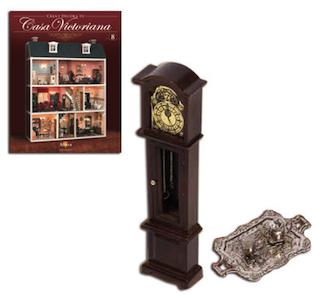 Fascículo 8 + Reloj de pared + Juego de café