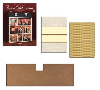 Fascículo 28 + Suelo 1ª planta + Papel pared rellano + Papel pared cocina