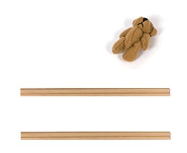 Fascículo 42 + Moldura trasera vertical derecha 2ª Planta + Moldura trasera vertical izquierda 2ª Planta + Osito