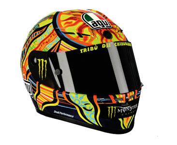 Fascículo 1 + casco Valentino Rossi – 2009