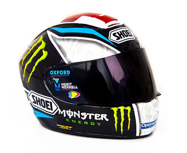 Fascículo 40 + Casco BRADLEY SMITH - 2013