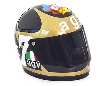Fascículo 36 + Casco BARRY SHEENE - 1978