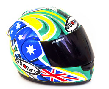 Fascículo 38 + Casco TROY BAYLISS - 2005