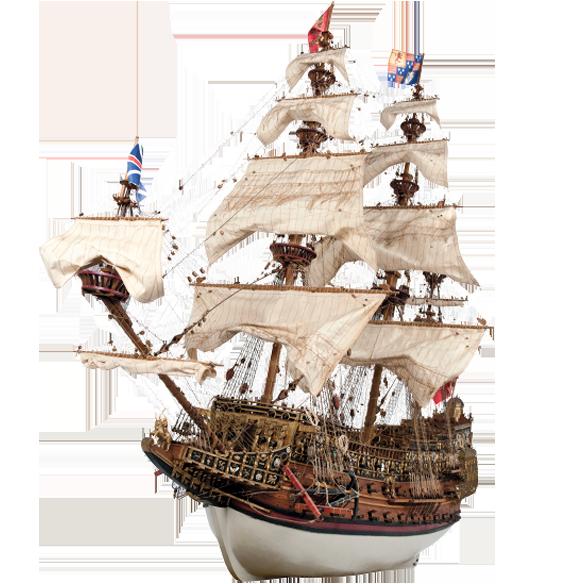 Construya el Sovereign of the Seas