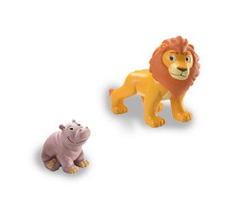 Libro 1: El león + figuras