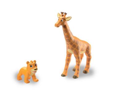 Libro 2: La jirafa + figuras