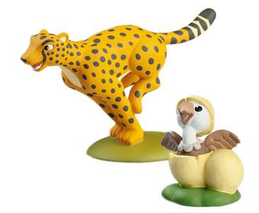 Libro 8: El guepardo + figuras