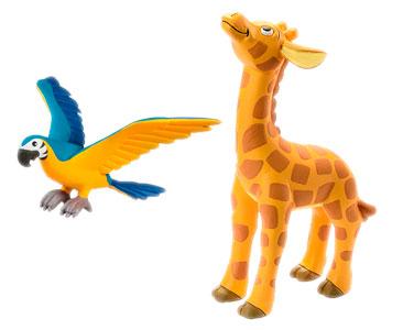 Libro 16: El papagayo Ara + figuras