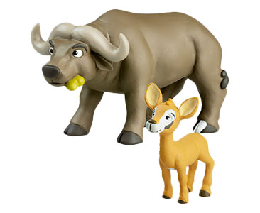 Libro 14: El búfalo + figuras