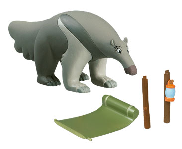 Libro 19: El oso hormiguero + figuras