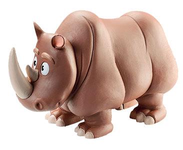 Libro 17: El rinoceronte + figuras