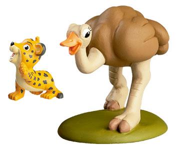 Libro 20: El avestruz + figuras