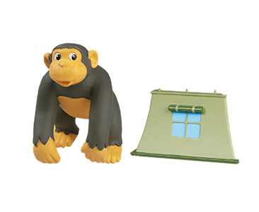 Libro 27: El oranguta?n de Borneo + figuras