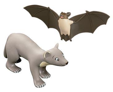 Libro 70: El murciélago + figuras