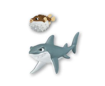Libro 2 + papá tiburón+ papá pez globo