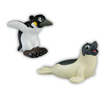 Libro 10 + papá foca + mamá pingüino