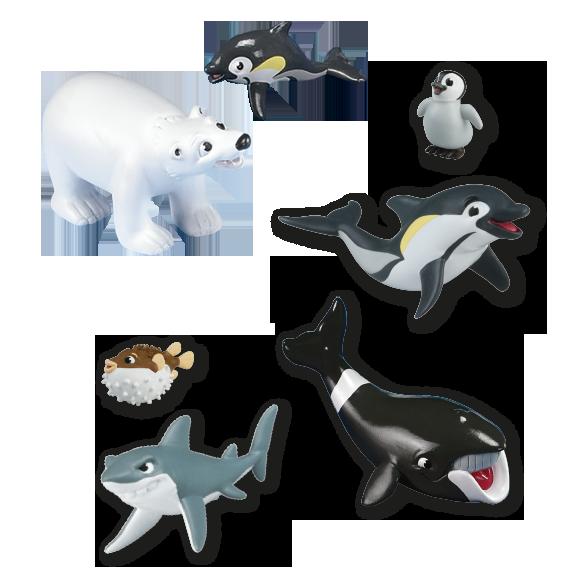 Los Animales del Mar y de los Polos