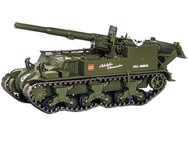 GUN MOTOR CARRIAGE M12 USA+ FASCÍCULO 74