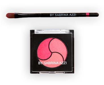 Fascículo 65 + Trío de sombras rosas + pincel difuminador