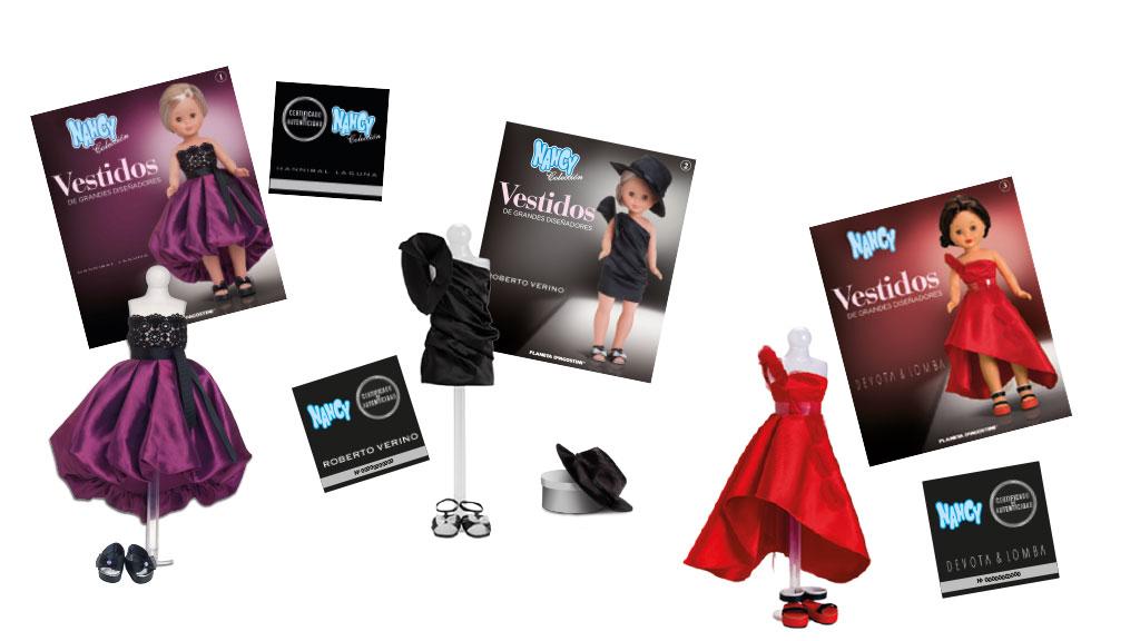 Colección de vestidos para Nancy de grandes diseñadores