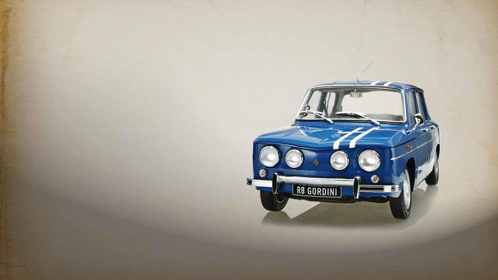 Construye la maqueta del Renault 8 Gordini