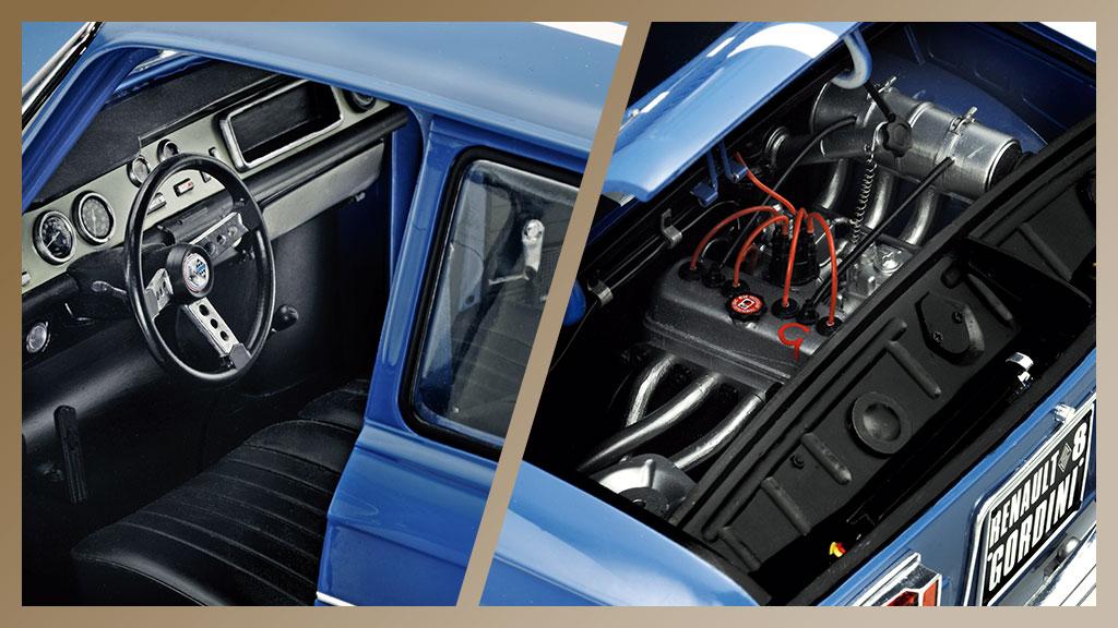 Construye paso a paso el Renault 8 Gordini a escala 1/8