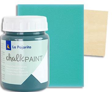 Fascículo 52 + Chalk Midnight Blue + esponja + cuadrado de madera