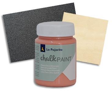 Fascículo 9 + Chalk Paint Peach + papel de lija del nº 300 + cuadrado de madera