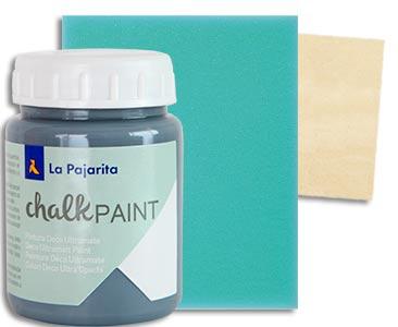 Fascículo 94 + pintura Gris urbano + esponja + cuadrado de madera