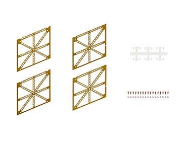 N° 12 Símbolo de París y de Francia + piezas