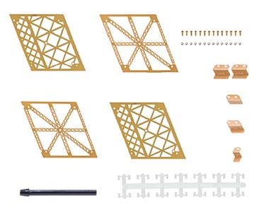 N° 4 La ciencia y la Torre Eiffel + piezas