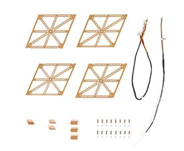 N° 5 Las falsas Torres Eiffel + piezas