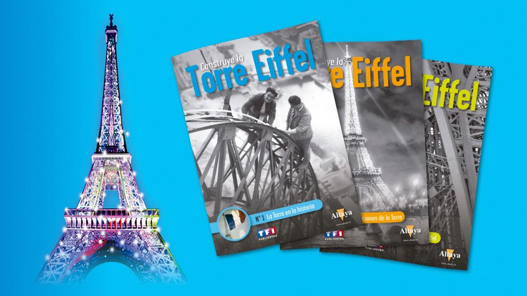 Construye paso a paso la maqueta de la Torre Eiffel