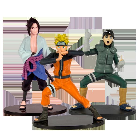 Colección de figuras de Naruto Shippuden