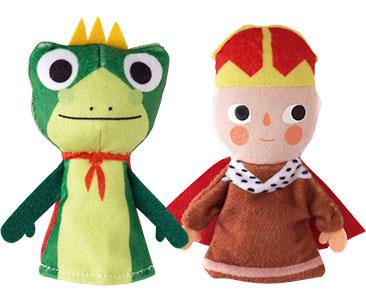 El Principe Rana + los títeres de el Rey y la rana