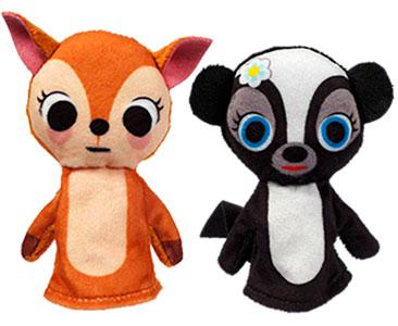 Bambi + los títeres de Bambi y de Mofeta