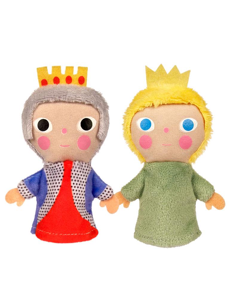 Las tres hijas del rey + los títeres del Rey y de la hija menor