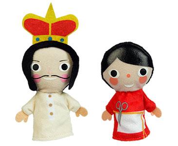 El traje nuevo del emperador + los títeres del emperador y del sastre