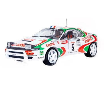 Fascículo 9 + Toyota Celica Turbo 4WD (ST185) - 1994 - D. Auriol