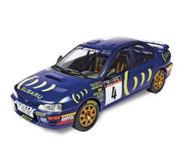 Fascículo 3 + SUBARU IMPREZA 555 1995 Colin McRae - Derek Ringer