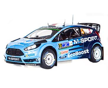 Fascículo 10 + Ford Fiesta RS WRC 2016 - 2016 - M. Østberg
