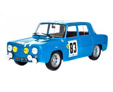 Fascículo 13 + Renault 8 Gordini - 1966 - J.- F. Piot