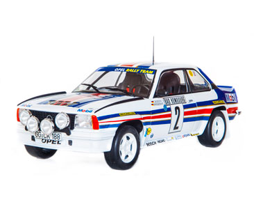 Fascículo 14 + Opel Ascona 400 - 1982 - W. Röhrl