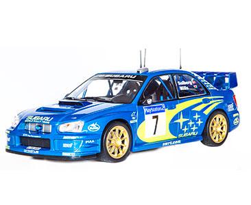 Fascículo 16 + Subaru Impreza WRC - 2003 - P. Solberg